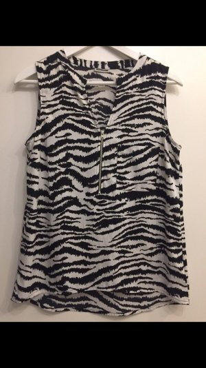 Noisy May Bluse in Zebraoptik