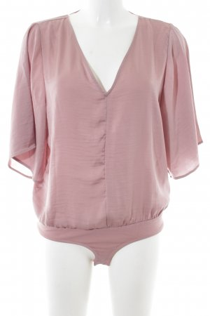 Noisy May Blusa tipo body rosa look casual