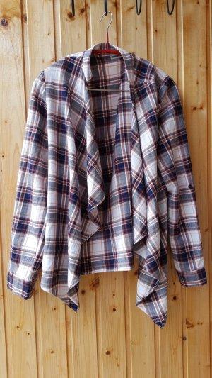 Noisy May Geruite blouse veelkleurig Katoen