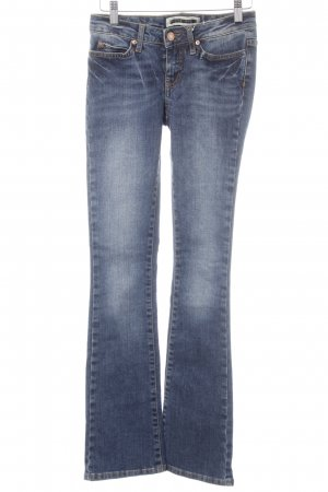 Noisy May Boot Cut Jeans stahlblau Casual-Look