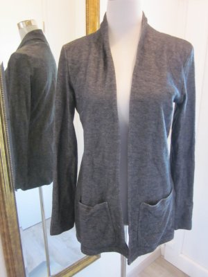 Noisy May Boyfriend Blazer black-silver-colored cotton