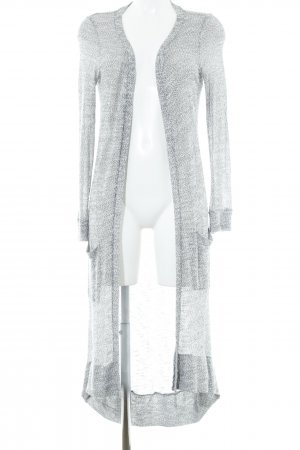 Noisy May Cardigan grau-wollweiß Casual-Look