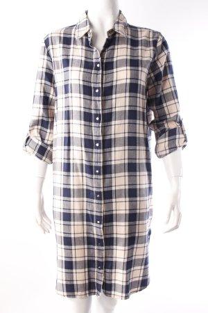 Noisy May Shirtwaist dress dark blue-pink cotton