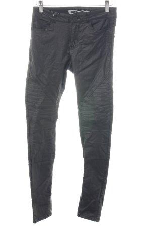 Noisy May Pantalon taille haute noir style décontracté