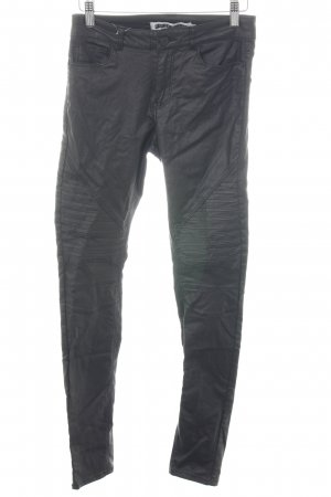 Noisy May Hoge taille broek zwart casual uitstraling
