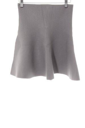 Noisy May High Waist Skirt light grey simple style