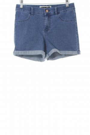 Noisy May Hot Pants blau Jeans-Optik
