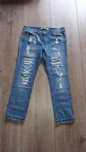 noisy may jeans boyfriend gr. 28 = gr. 40 used look