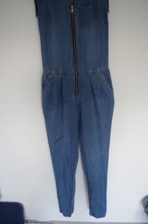 Noisy May Jeans-Jumpsuit ärmellos