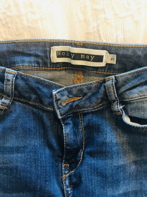 Noisy May Jeans mittelblau Gr. 27