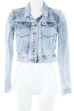 Noisy May Veste en jean bleu clair style athlétique