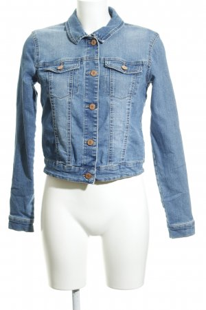 Noisy May Veste en jean multicolore Aspect de jeans