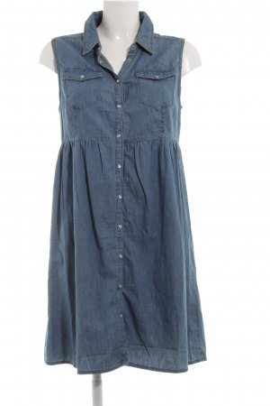 Noisy May Jeanskleid blau Casual-Look