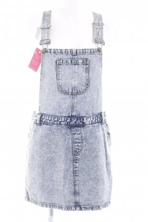 Noisy May Jeanskleid mehrfarbig Jeans-Optik