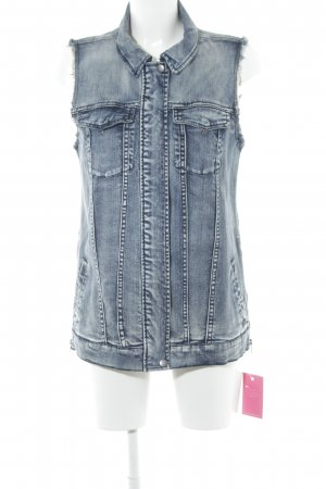 Noisy May Denim Vest blue casual look