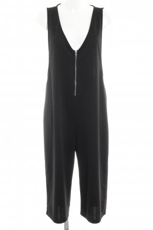 Noisy May Jumpsuit schwarz-silberfarben Casual-Look