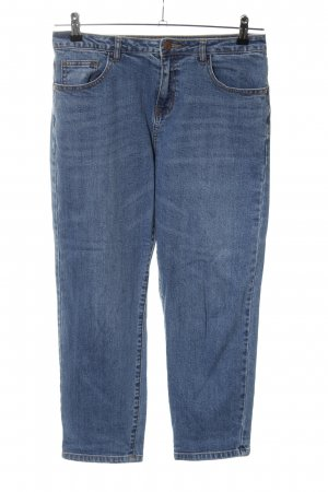 Noisy May Karottenjeans blau Casual-Look