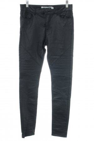 Noisy May Lederhose schwarz Casual-Look