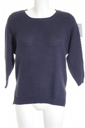 Noisy May Longpullover dunkelblau Casual-Look