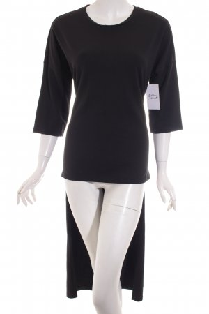 Noisy May Longshirt schwarz Street-Fashion-Look