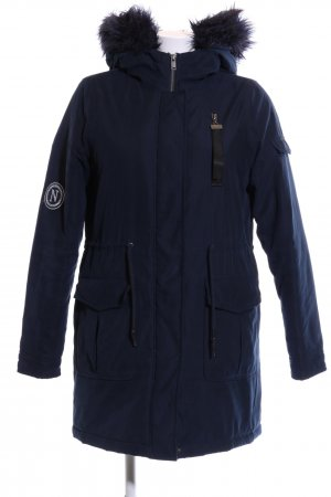 Noisy May Parka bleu style mode des rues