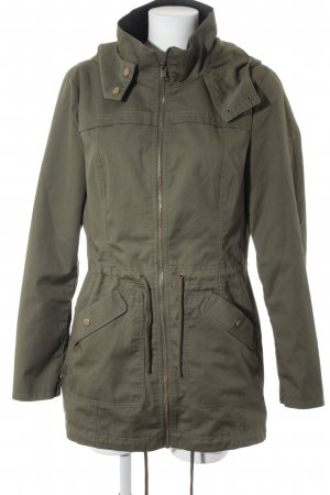 Noisy May Parka khaki Logostickerei