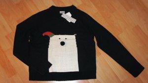 Noisy May Pullover mit Motiv Gr. S - schwarz - NEU!!