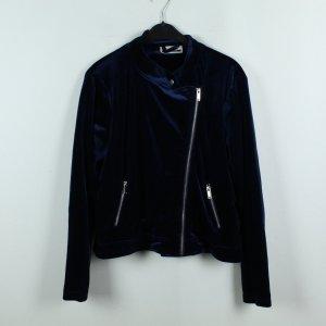 Noisy May Biker Jacket dark blue-blue polyester