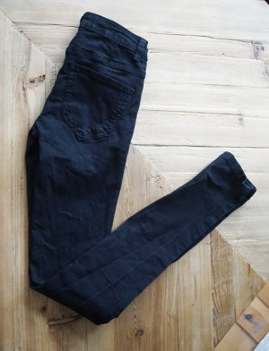 Noisy May schwarze Super Skinny Jeans eng knapp sexy bequem Baumwolle 34 XS