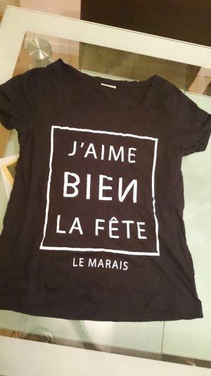 Noisy May Shirt Tshirt T-Shirt T Tee M Fête Paris