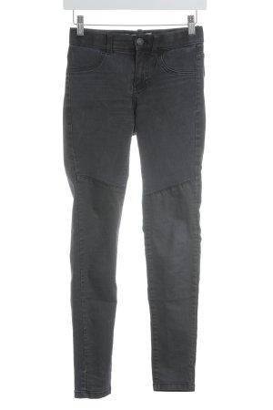 Noisy May Skinny Jeans anthrazit Street-Fashion-Look