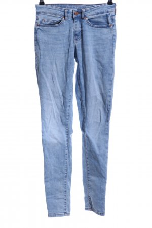 Noisy May Skinny Jeans blassblau Jeans-Optik