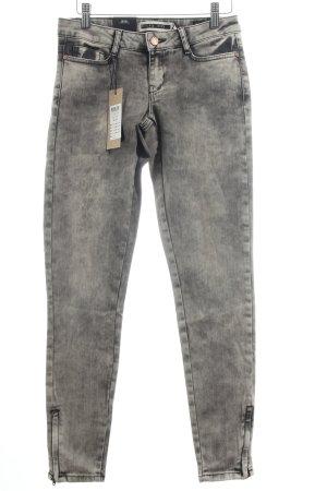 "Noisy May Skinny Jeans ""Eve"" grau"