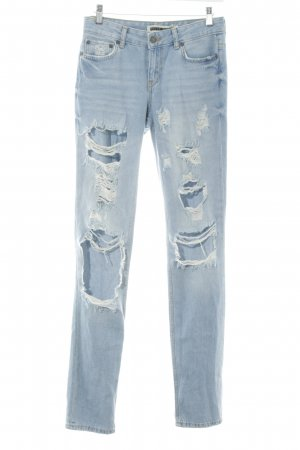 Noisy May Skinny Jeans himmelblau Casual-Look