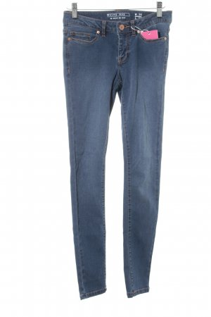 Noisy May Stretch Jeans stahlblau Casual-Look