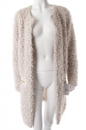 Noisy May Strickjacke Beige