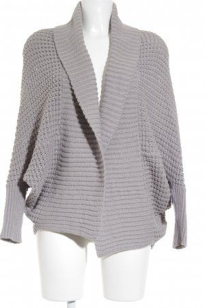 Noisy May Strickjacke hellgrau Casual-Look