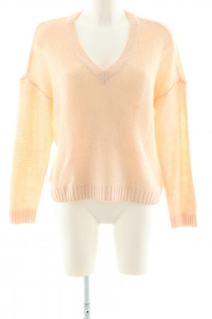 Noisy May Strickpullover nude Casual-Look