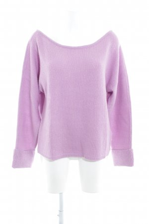 Noisy May Strickpullover helllila Casual-Look