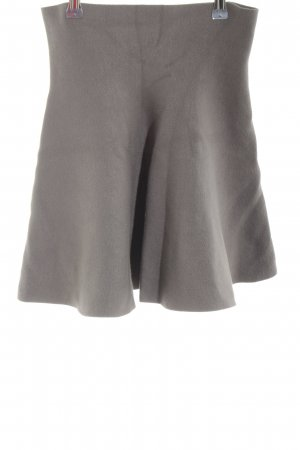 Noisy May Knitted Skirt light grey classic style