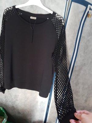 Noisy May Sweater mit Netzärmel # cooler Look # Grösse M/L