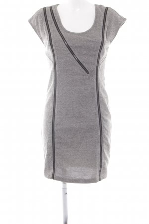 Noisy May Sweat Dress light grey-black casual look