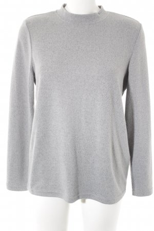 Noisy May Sweatshirt gris clair style décontracté
