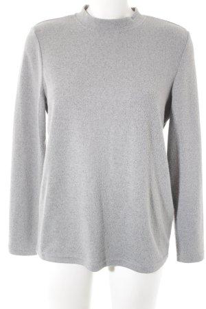 Noisy May Sweatshirt hellgrau Casual-Look