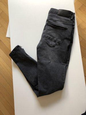 Noisy May Vero Moda Skinny Jeans 28 x 32 dunkelgrau