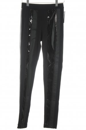 Noka'oi Leggings black material mix look