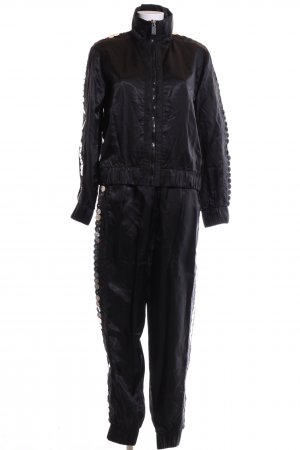 Noka'oi Woven Twin Set black casual look