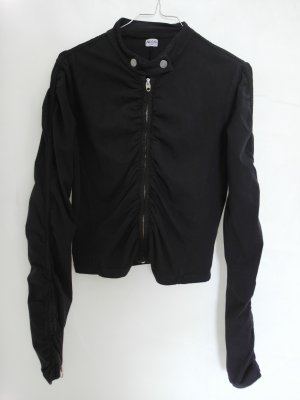 NOLITA Gr. L Jacke Shirtjacke Oberteil schwarz elasthan Reissverschluss