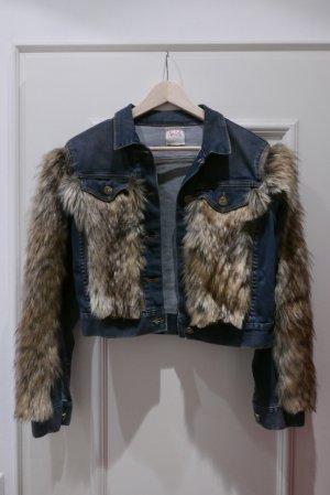 NOLITA jeans and fake fur Jacket!