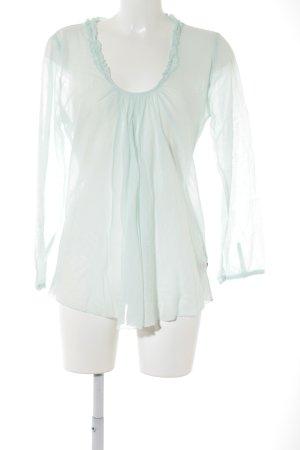 Nolita Langarm-Bluse mint Casual-Look